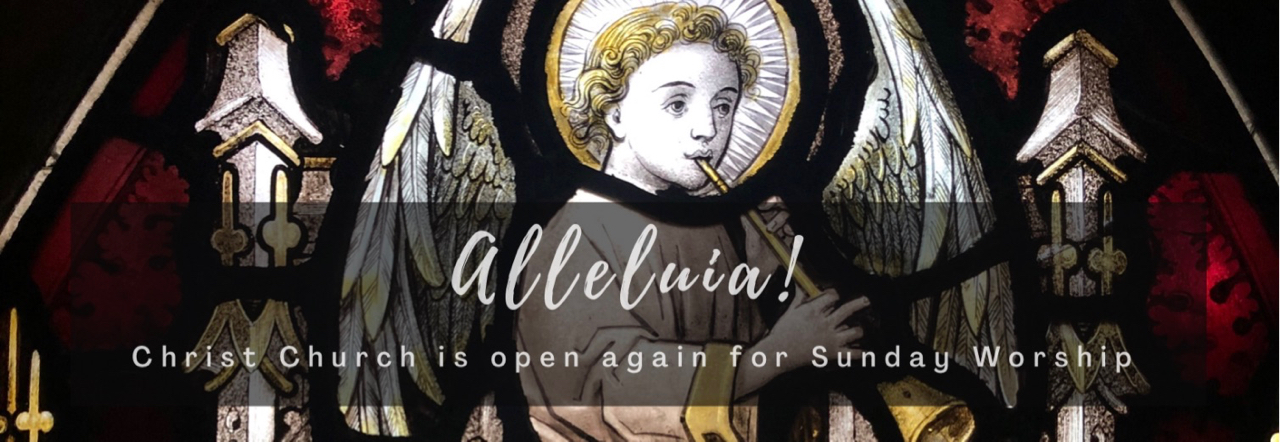 Alleluia! We're open again!